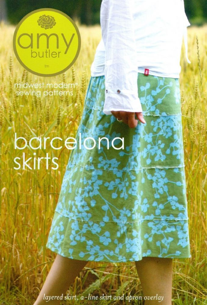 Amy Butler Barcelona Skirt Sewing Pattern